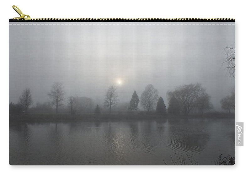 Landscape Carry-all Pouch featuring the photograph Foggy Afternoon by Sheli Kesteloot