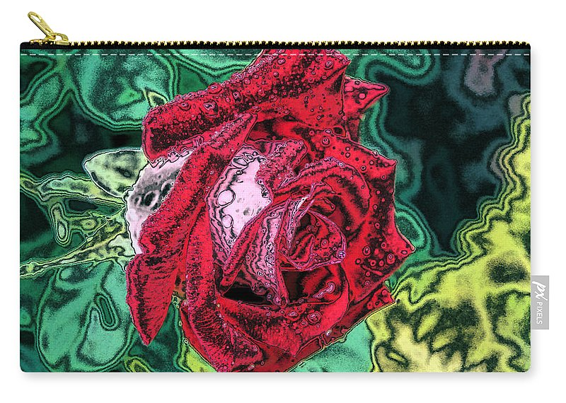Rose Carry-all Pouch featuring the photograph Foiled Again by Kristin Elmquist
