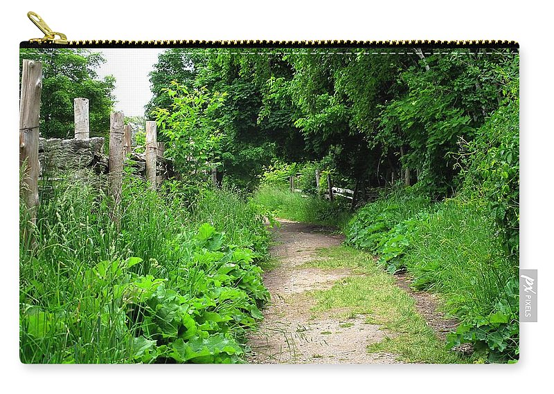 Path Carry-all Pouch featuring the photograph Follow by Ian MacDonald