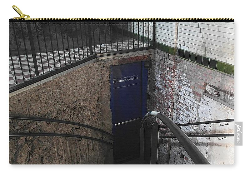 Underground Carry-all Pouch featuring the photograph Follow Me by Elisabeth Derichs