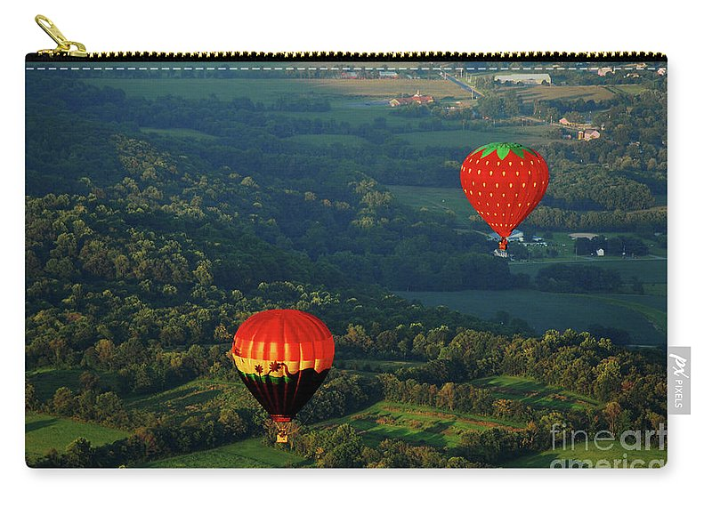 Balloon Carry-all Pouch featuring the photograph Follow Me by Lori Tambakis