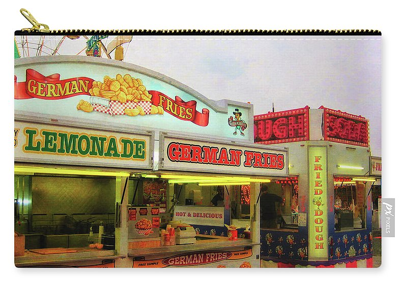 Carnival Carry-all Pouch featuring the photograph Food And Fun by JAMART Photography