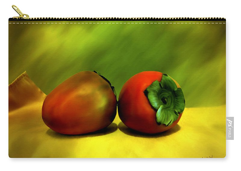 Still Life Carry-all Pouch featuring the photograph Food For The Gods by Kurt Van Wagner