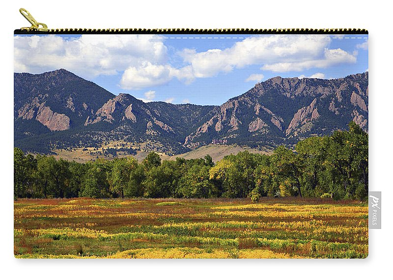 Fall Carry-all Pouch featuring the photograph Foothills Of Colorado by Marilyn Hunt