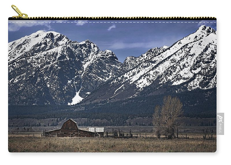 Mountains Carry-all Pouch featuring the photograph Foothills Of The Tetons by John Christopher