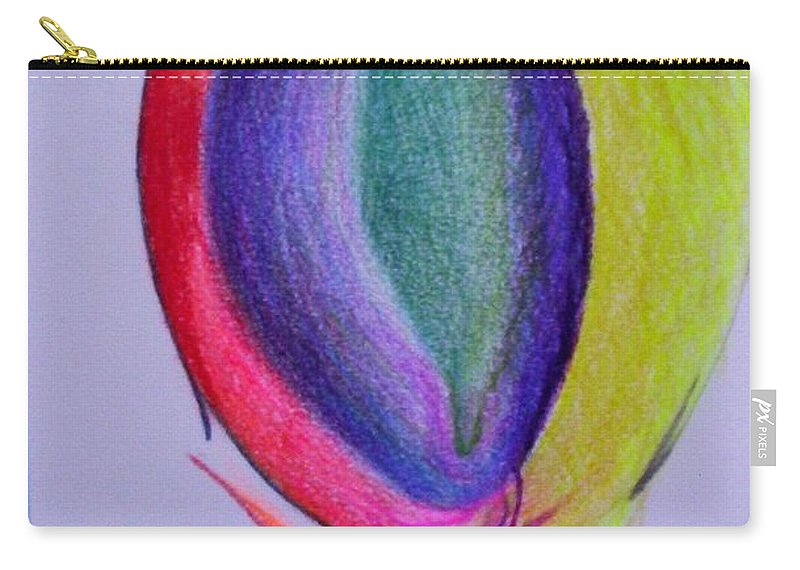 Abstract Carry-all Pouch featuring the painting For Sol by Suzanne Udell Levinger