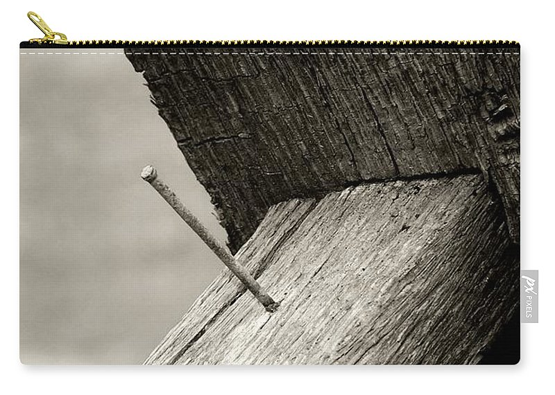Carry-all Pouch featuring the photograph For Want Of A Nail by RC DeWinter