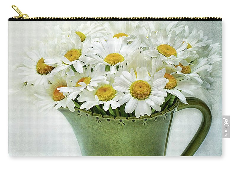 Daisy Carry-all Pouch featuring the photograph For Your Love by Kathi Mirto