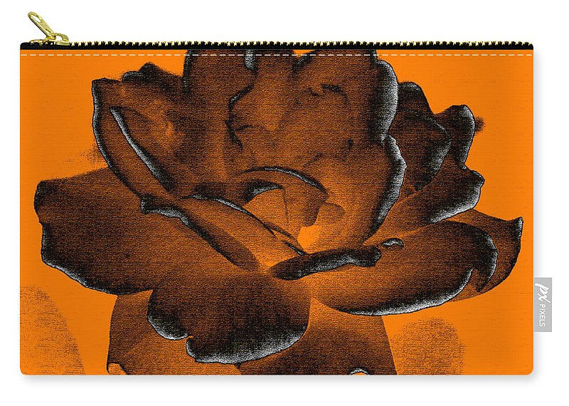 Rose Carry-all Pouch featuring the photograph Forced Into Shape by Amanda Barcon