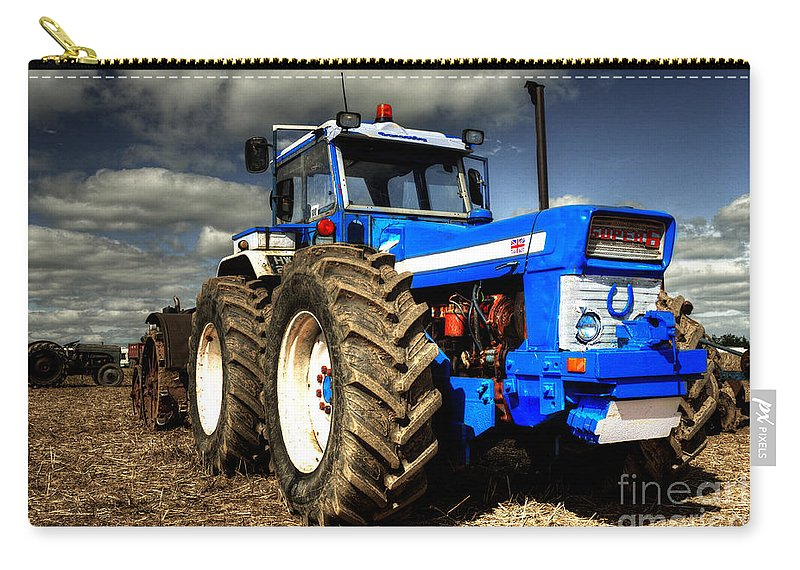 Ford Carry-all Pouch featuring the photograph Ford County by Rob Hawkins