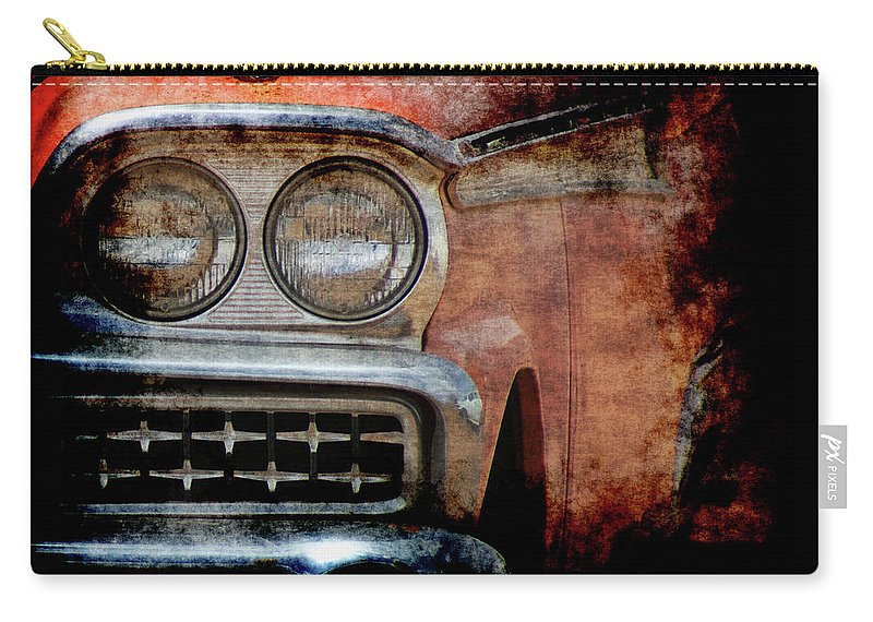 Fords Carry-all Pouch featuring the photograph Ford by Ernie Echols