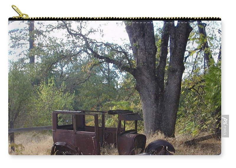 Ford Carry-all Pouch featuring the photograph Ford Model A by Mary Deal