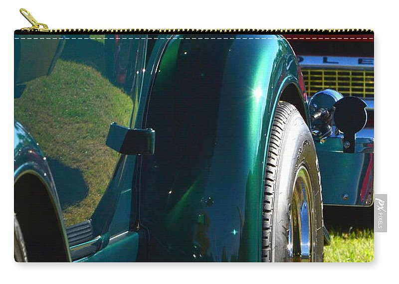 Carry-all Pouch featuring the photograph Ford Pickup Fender by Dean Ferreira
