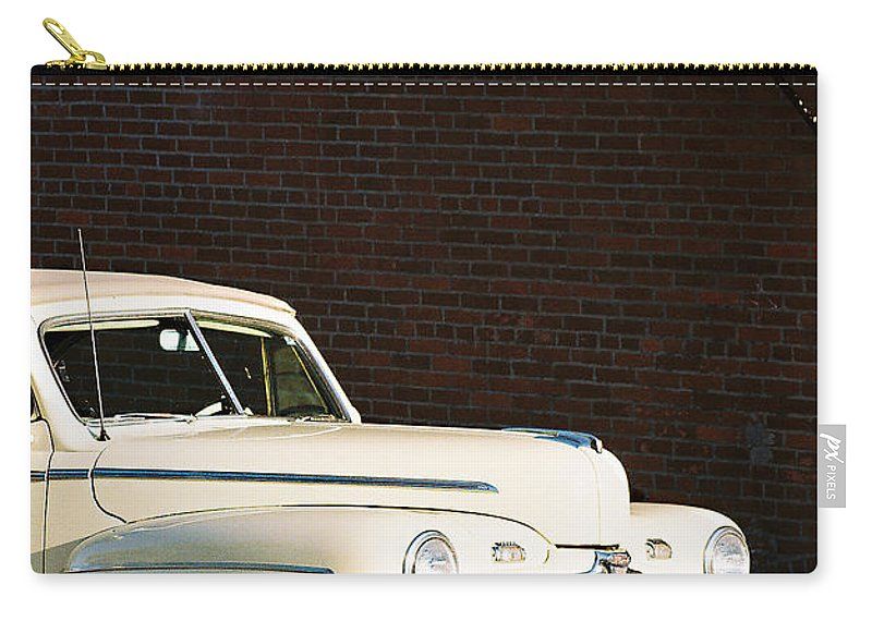Car Carry-all Pouch featuring the photograph Ford by Steve Karol