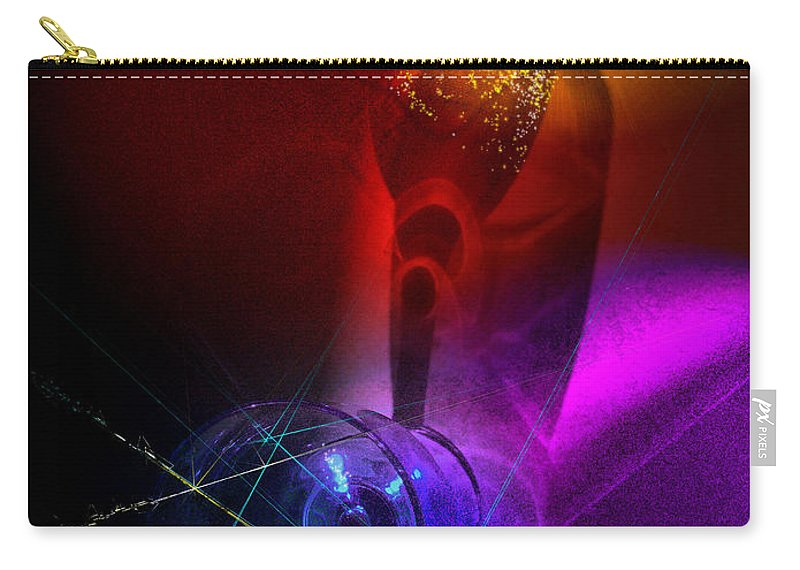 Fantasy Carry-all Pouch featuring the photograph Foreplay by Miki De Goodaboom