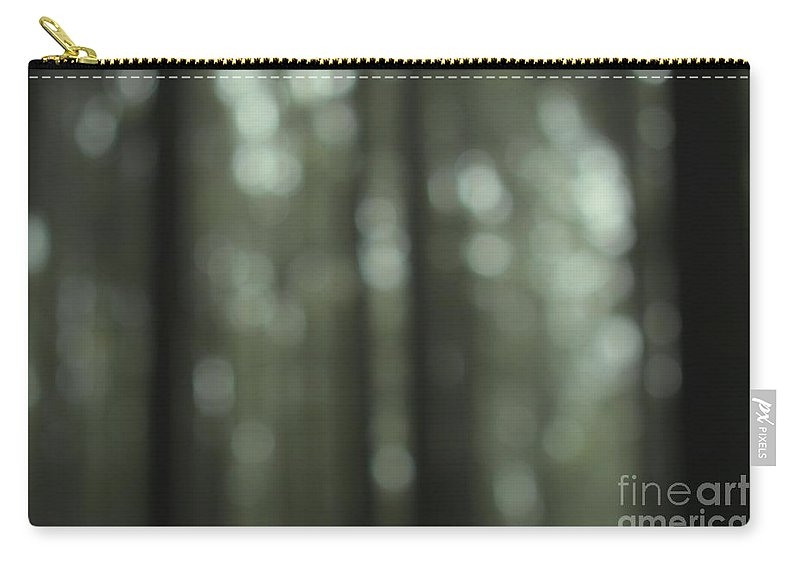 Forest Carry-all Pouch featuring the photograph Forest Bokeh by MingTa Li