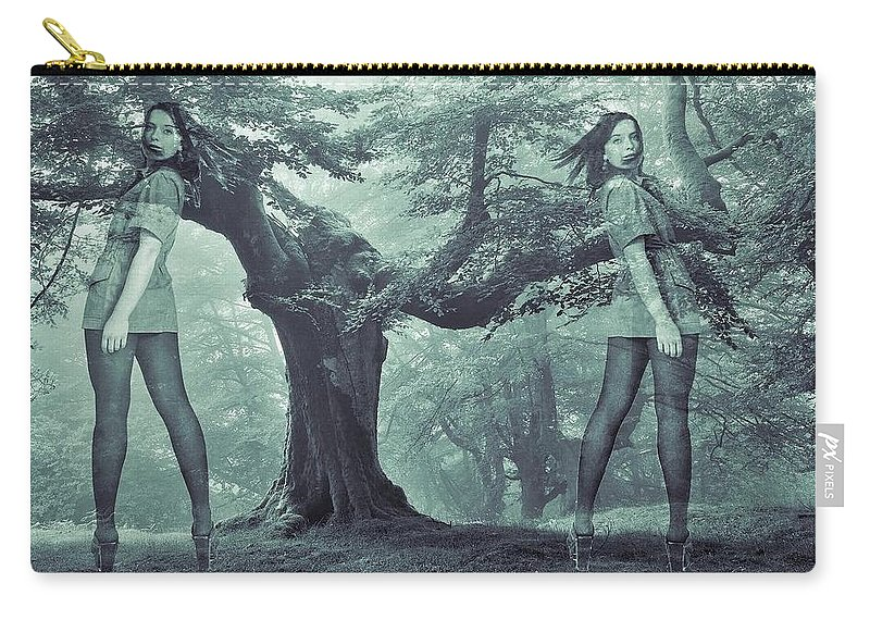 Colette Carry-all Pouch featuring the photograph Forest Harmony by Colette V Hera Guggenheim