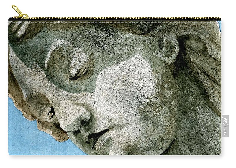 Woman Carry-all Pouch featuring the painting Forever Yours by Brenda Owen