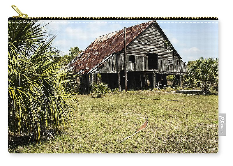 Landscape Carry-all Pouch featuring the photograph Forgotten Times by Norman Johnson