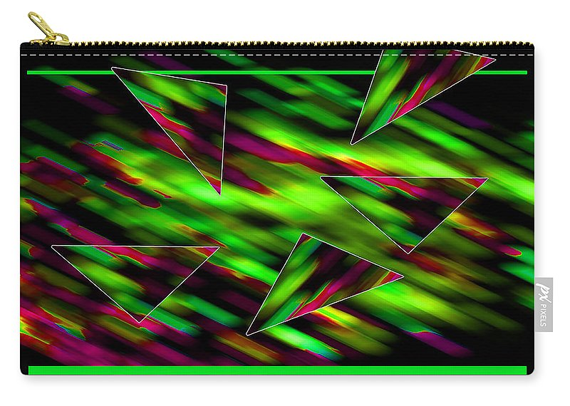 Abstract Carry-all Pouch featuring the digital art Formation by Roger Bester