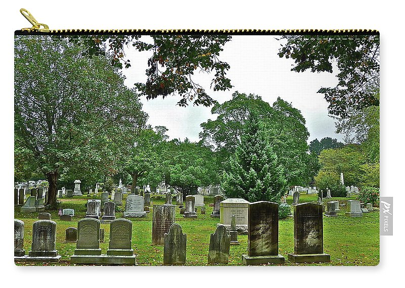 Graves Carry-all Pouch featuring the photograph Former Neighbors by Diana Hatcher