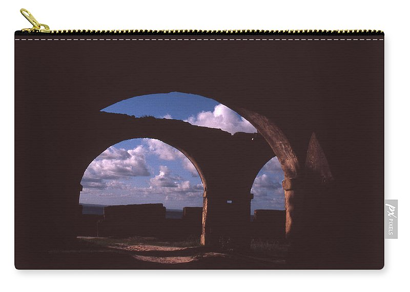 Bahia Carry-all Pouch featuring the photograph Fortaleza De Morro De Sao Paulo by Patrick Klauss