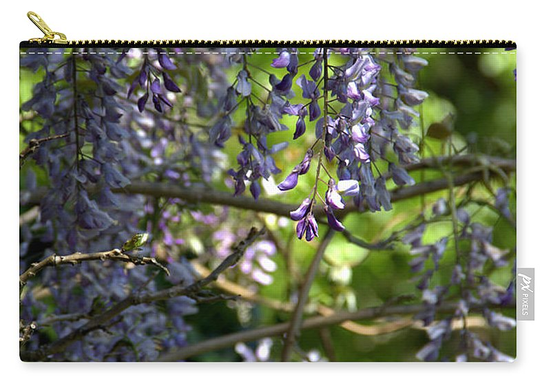 Wisteria Carry-all Pouch featuring the photograph Fortress Of Peace by Jeanette C Landstrom