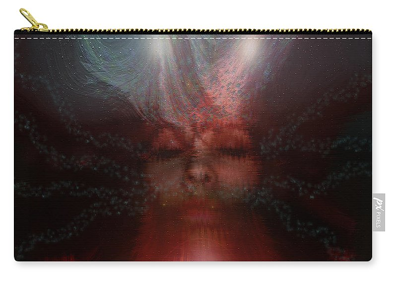 Photography Carry-all Pouch featuring the photograph Fortune Teller by Linda Sannuti