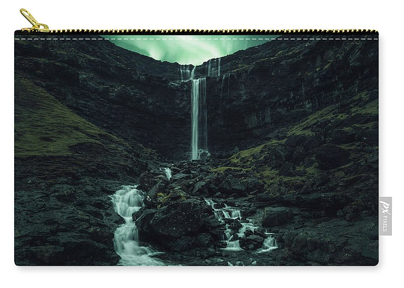 Aurora Carry-all Pouch featuring the photograph Fossa Fantasy by Tor-Ivar Naess