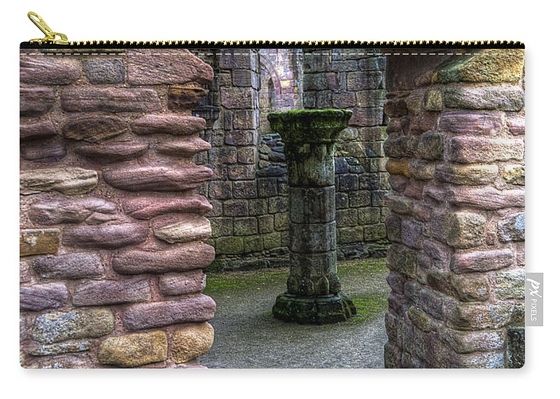 Castle Carry-all Pouch featuring the photograph Fountains Abbey 1 by Svetlana Sewell