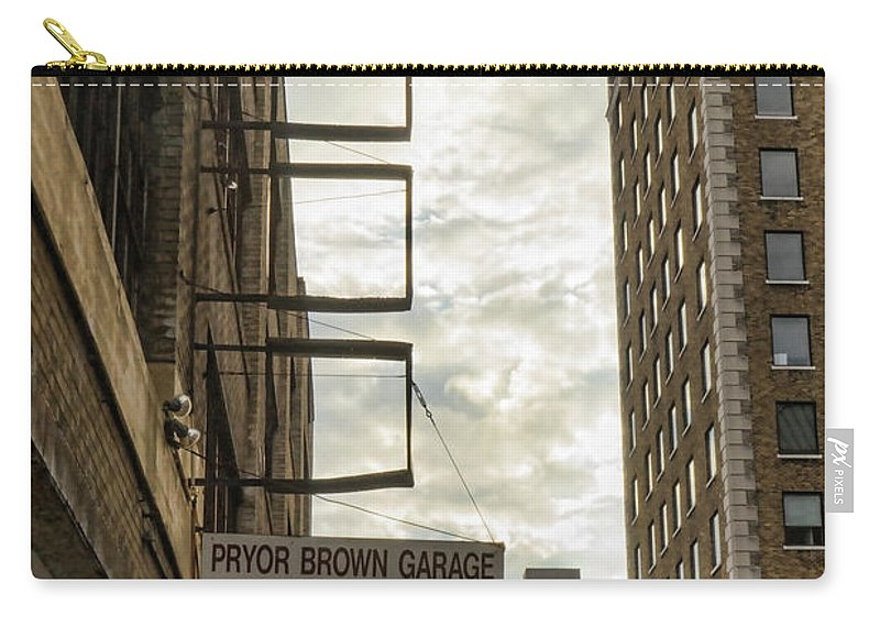 Knoxville Carry-all Pouch featuring the photograph Four Empty Squares by Sharon Popek