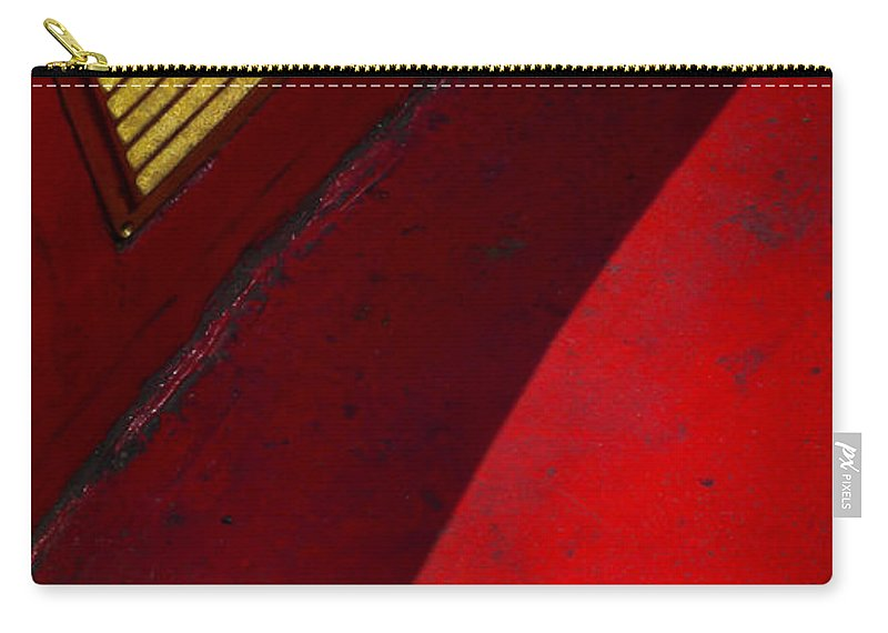 Skiphunt Carry-all Pouch featuring the photograph Foxy by Skip Hunt