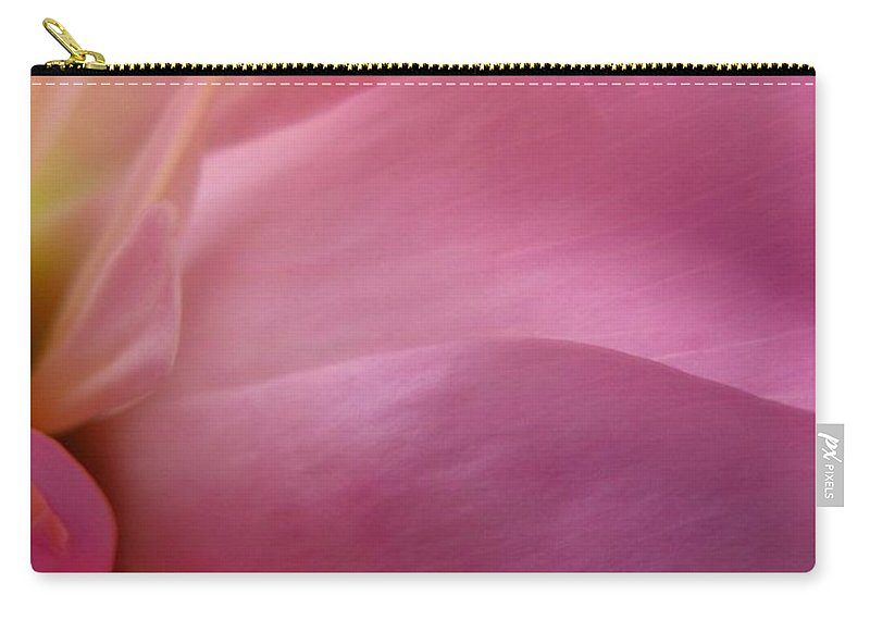 Flower Carry-all Pouch featuring the photograph Fragment by Rhonda Barrett