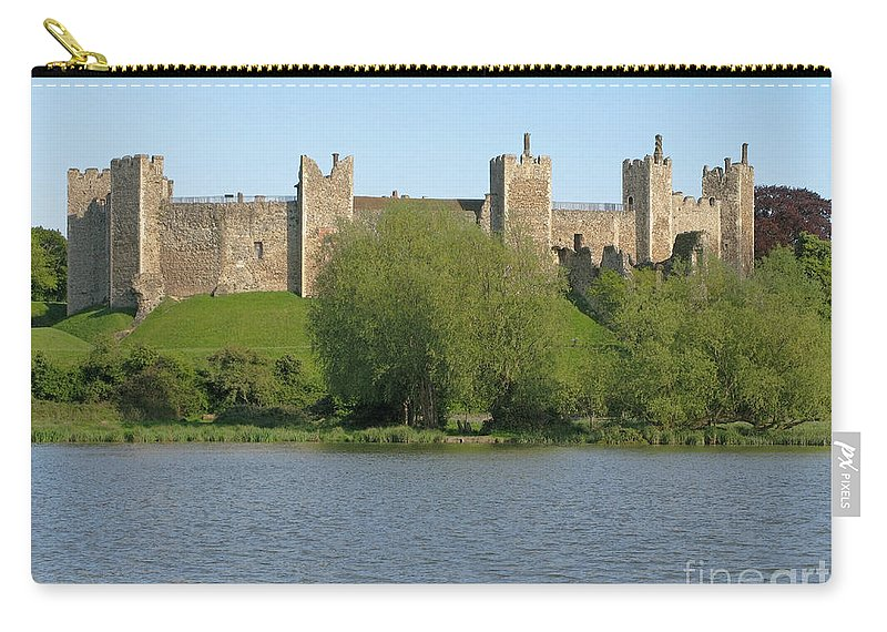 England Carry-all Pouch featuring the photograph Framlingham Castle by Ann Horn