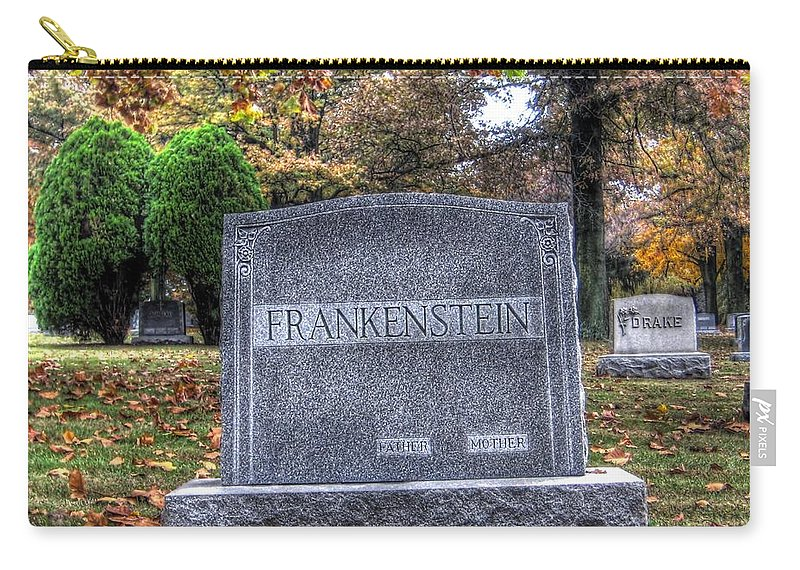 Hdr Carry-all Pouch featuring the photograph Frankenstein by Jane Linders