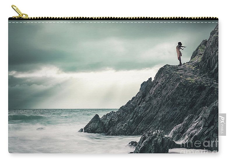 Kremsdorf Carry-all Pouch featuring the photograph Freedom by Evelina Kremsdorf