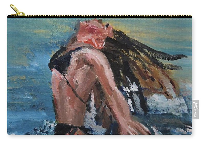 Cape Cod Carry-all Pouch featuring the painting Freedom by Michael Helfen