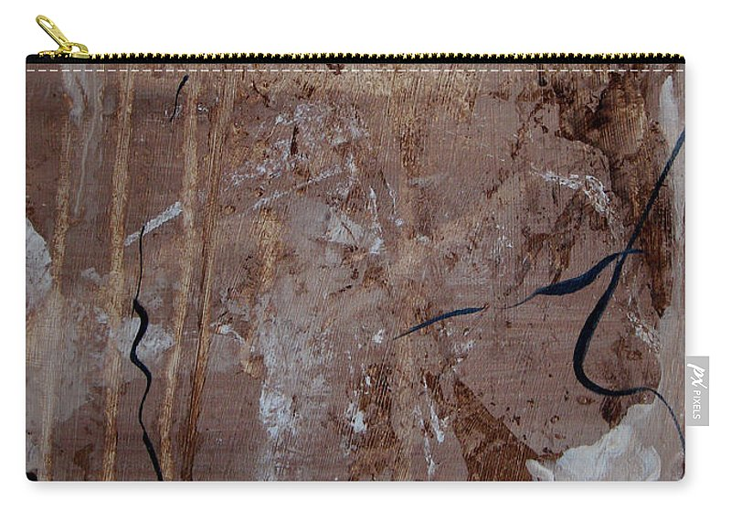 Abstract Carry-all Pouch featuring the painting Freedom Of Expression by Ruth Palmer