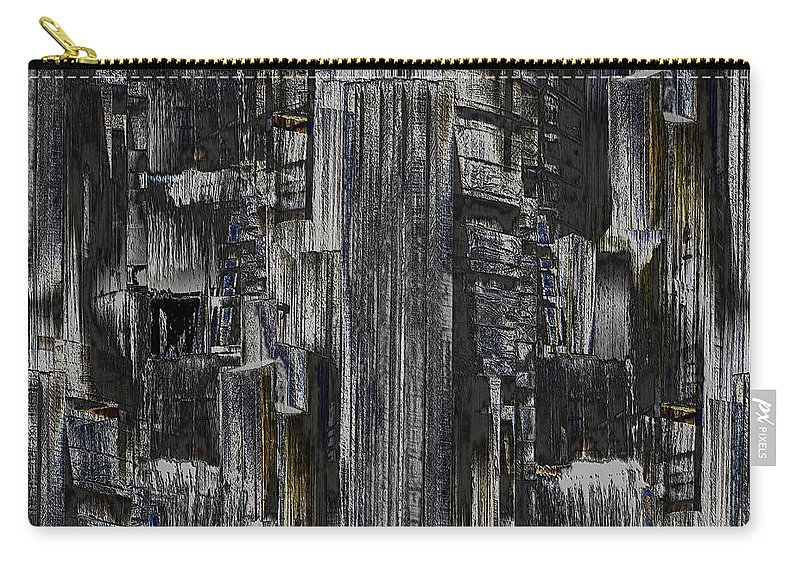 Seattle Carry-all Pouch featuring the photograph Freeway Park 2 by Tim Allen