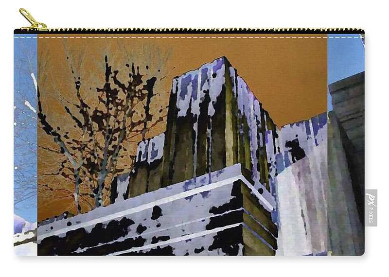 Seattle Carry-all Pouch featuring the photograph Freeway Park 7 by Tim Allen