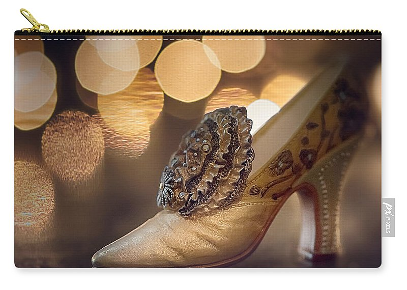 Bokeh Carry-all Pouch featuring the photograph French Bokeh by Laura Macky