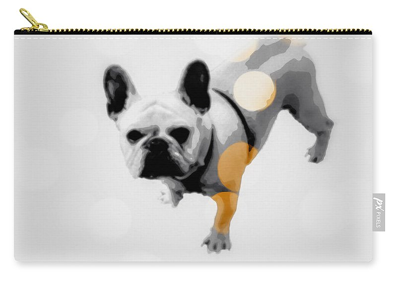French Carry-all Pouch featuring the photograph French Lights by Heather Joyce Morrill