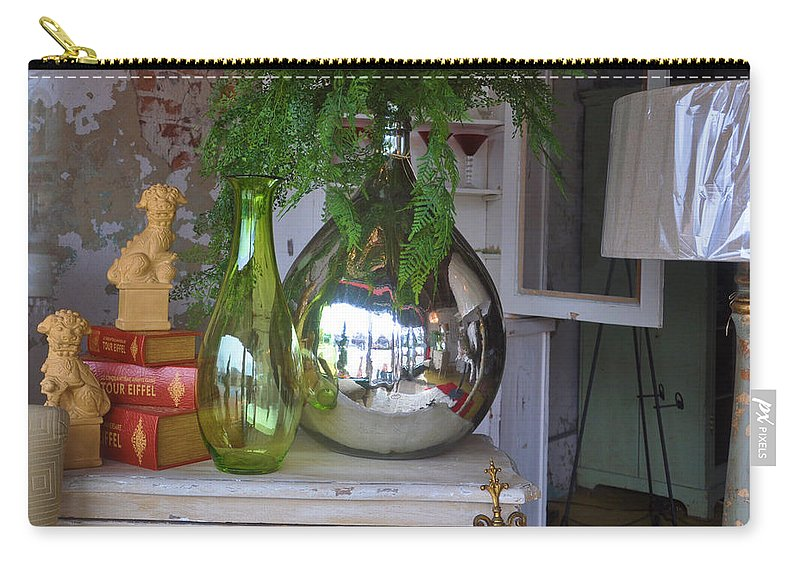 Still Life Carry-all Pouch featuring the photograph French Vases by Jan Amiss Photography