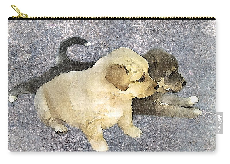 3d Carry-all Pouch featuring the photograph Friends Forever by Svetlana Sewell