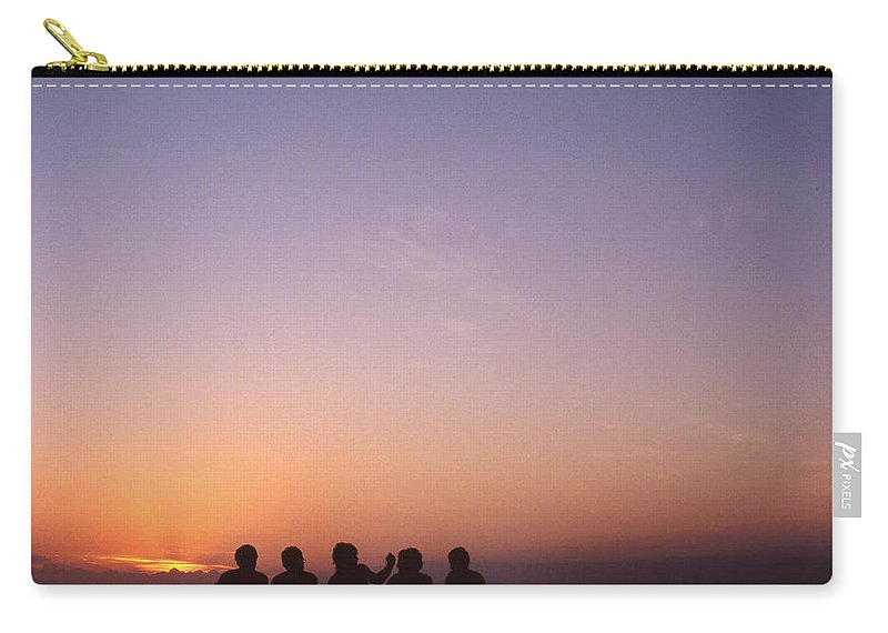 Bahia Carry-all Pouch featuring the photograph Friends by Patrick Klauss