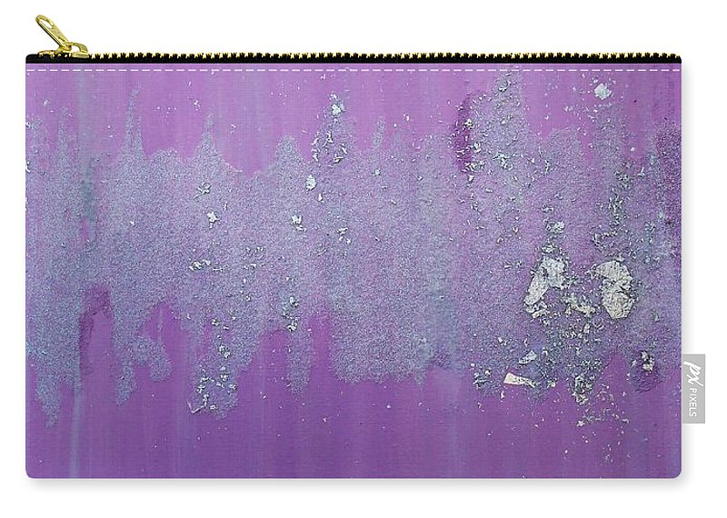 Interior Design Carry-all Pouch featuring the painting Friendship 2 by Leah McCarthy