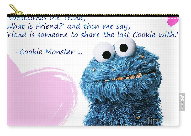 friendship is cookie monster cute friendship quotes carry