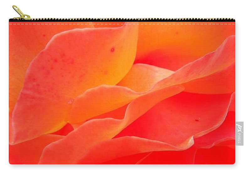 Flower Carry-all Pouch featuring the photograph Friendship by Juergen Weiss