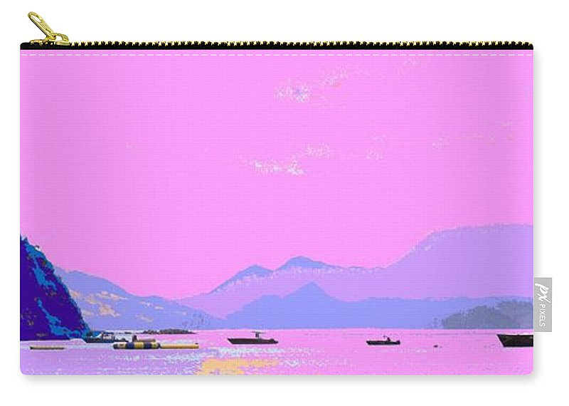 Frigate Carry-all Pouch featuring the photograph Frigate Bay Morning by Ian MacDonald
