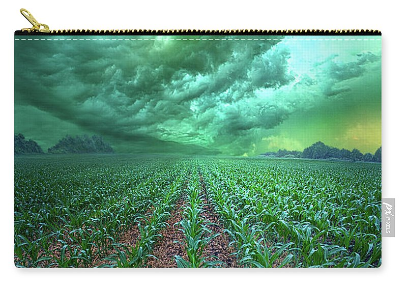 Inspirational Carry-all Pouch featuring the photograph From Beginning To End by Phil Koch